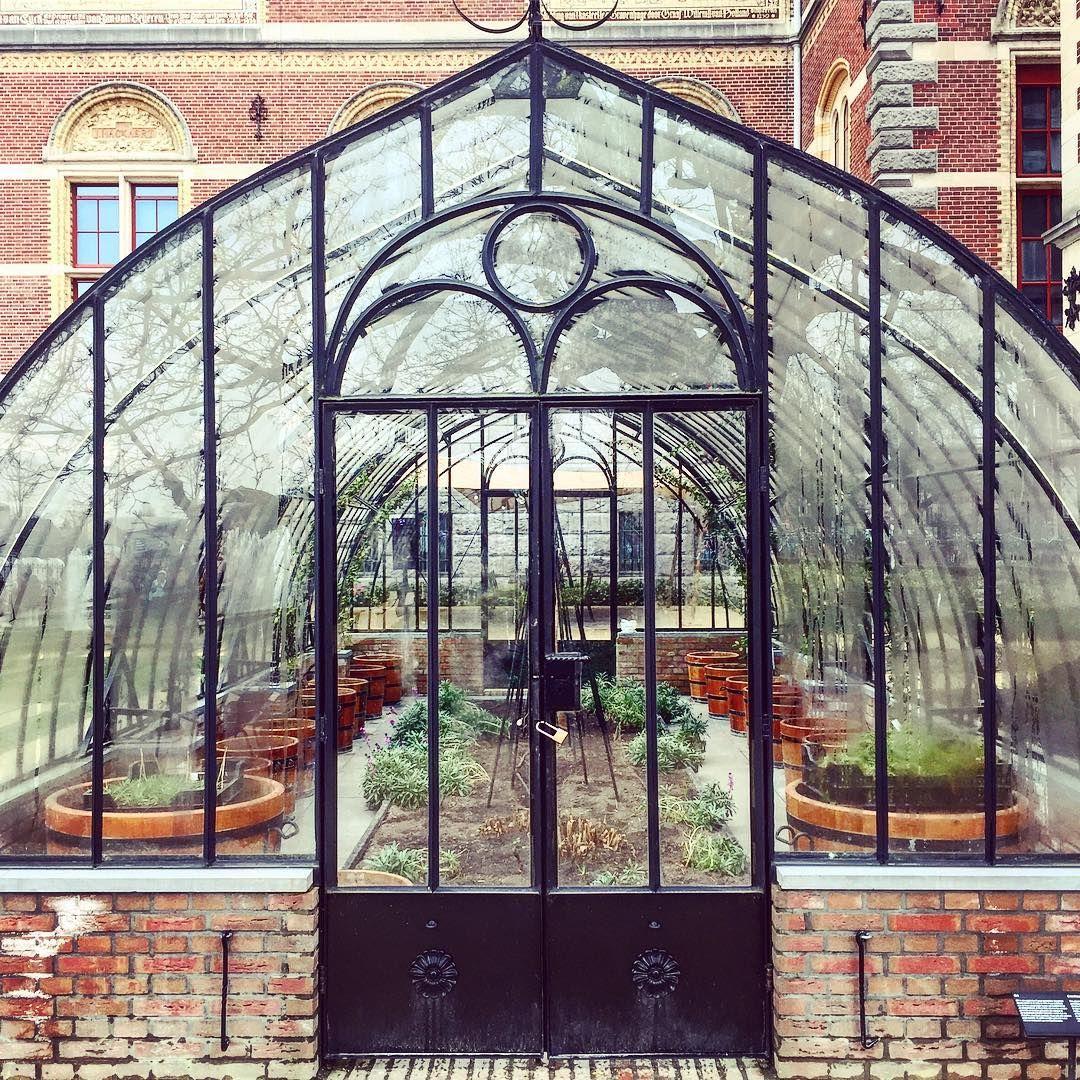 Végétal #serre #plants #green #nature #city #amsterdam ... serapportantà Verriere Jardin