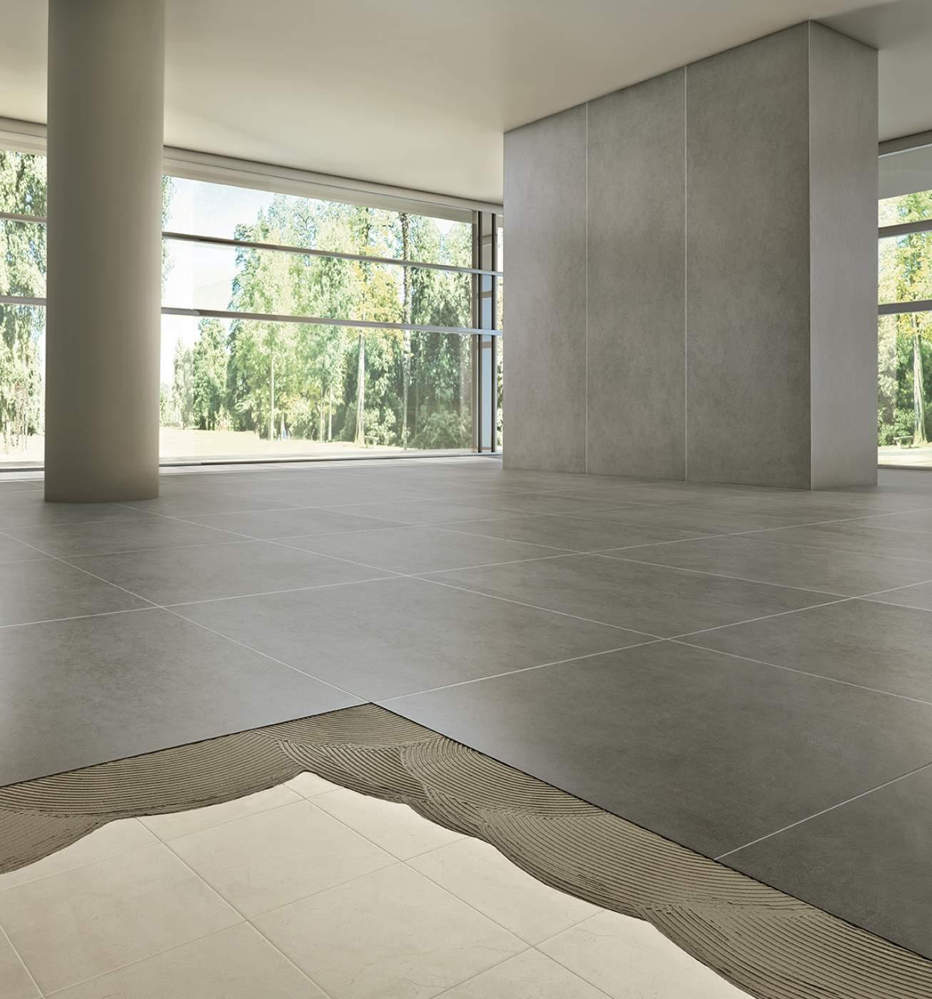 Vente De Carreau Très Faible Épaisseur 3,5Mm Au Grand Format ... intérieur Carrelage Faible Epaisseur