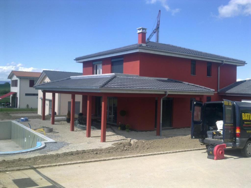 Villa Avec Piscine Et Terrasse Couverte – Cema Maison tout Terrasse Avec Piscine