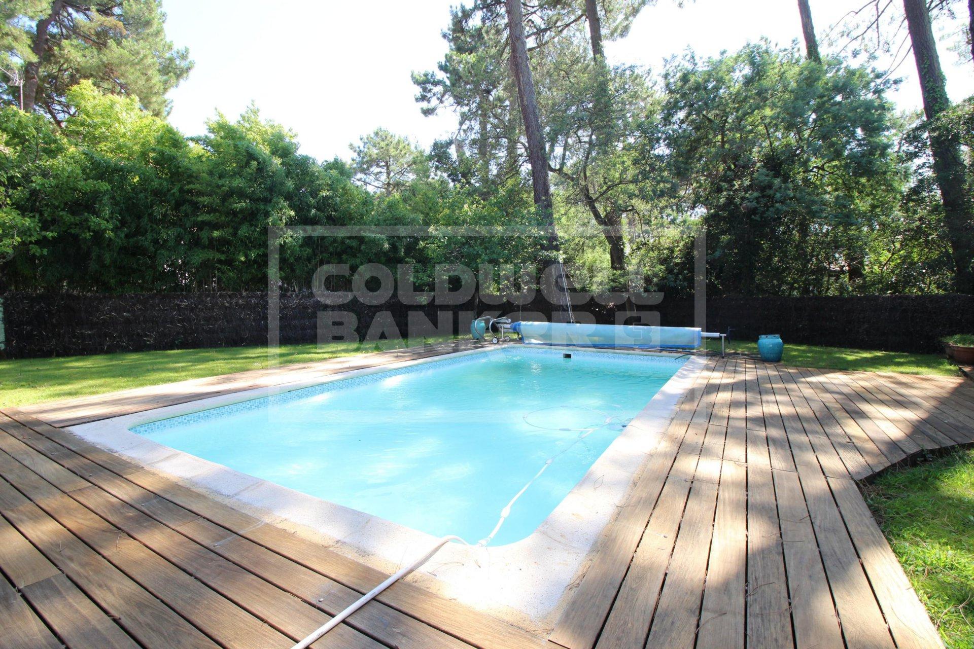 Villa Familiale Avec Piscine Pyla/abatilles Réf. Sc2-1047 dedans Piscine Meru