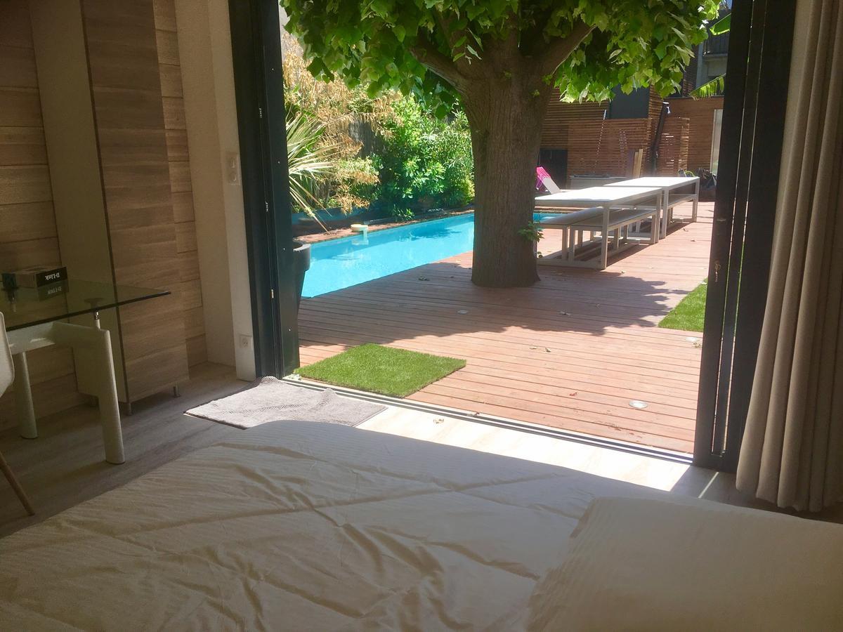 Villalar Maison Contemporaine Spa Centre (Fransa Toulouse ... dedans Piscine Labege