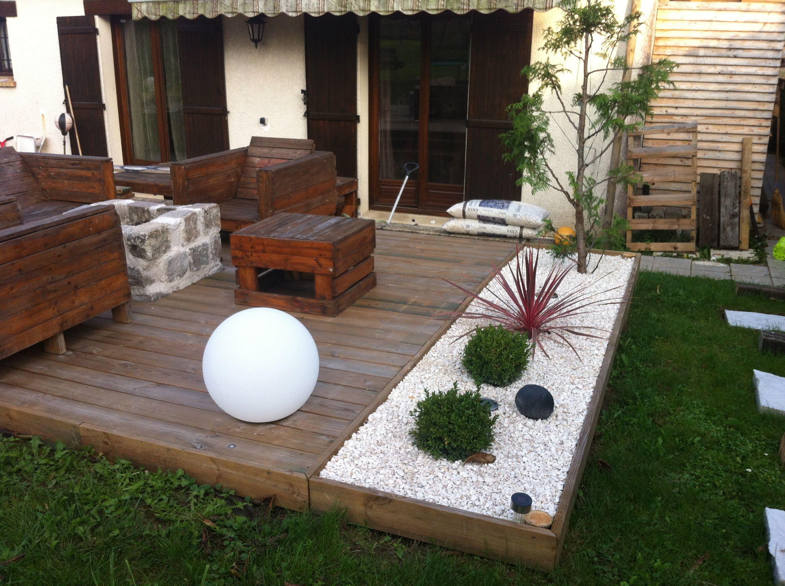 Votre Magazine Pour Le Bricolage Et Le Jardinage ... serapportantà Amenagement De Terrasse