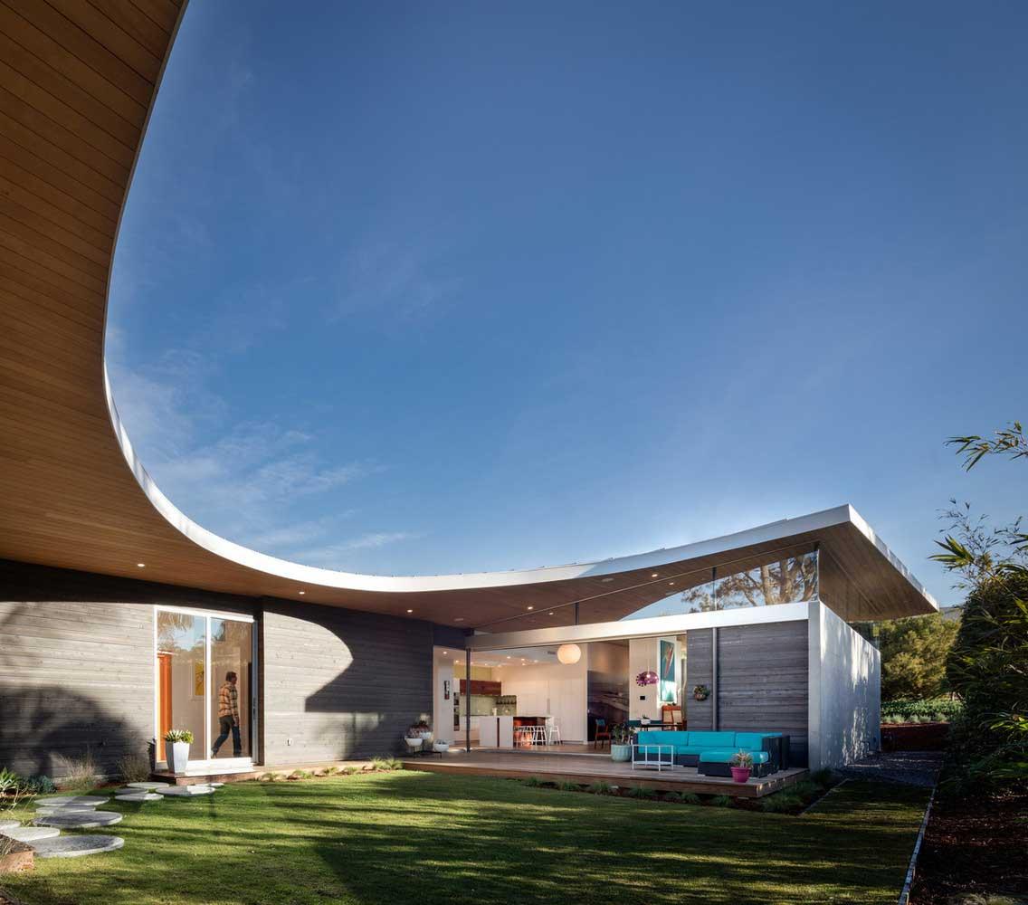 Vous Voulez Une Maison Moderne De Plain Pied? 33+ Projets ... dedans Terrasse Toit Plat